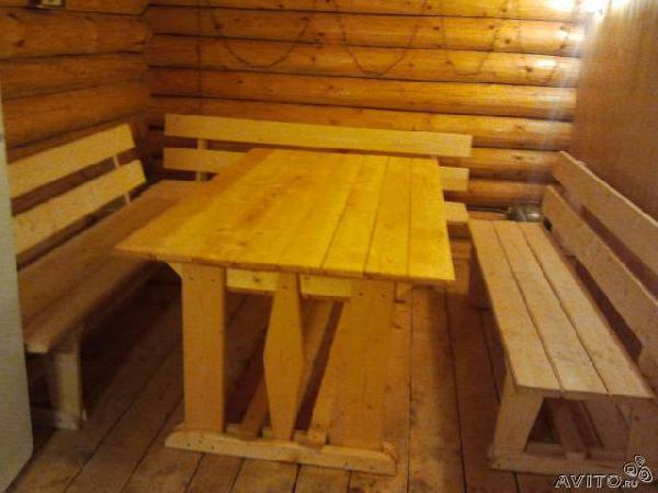 Заказ отдельного автомобиля для перевозки вещей : Лавки, скамейки столы в баню из Загорского в Пермь