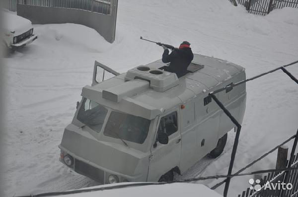 Перевозка авто уаз 2206 / 2001 г / 1 шт из Тамбова в Санкт-Петербург