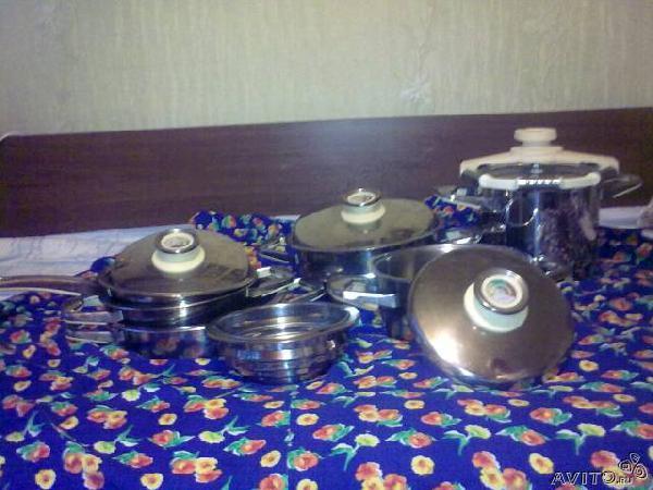 Доставка вещей : Набор посуды Zepter из Краснодара в Турсагали