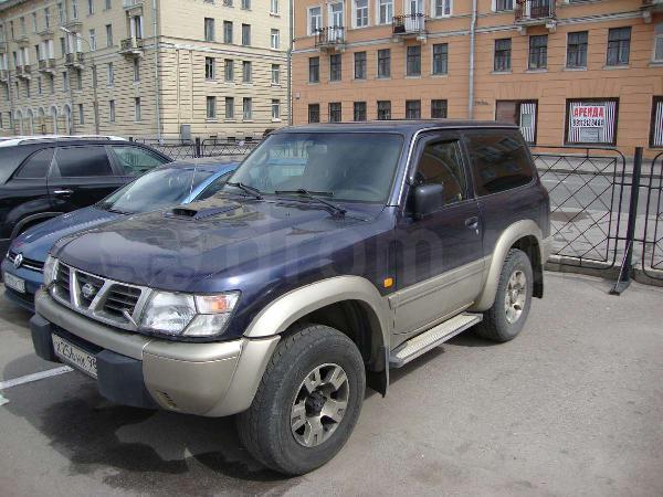 Перевозка автомобиля Nissan Patrol 3х-дверый / 1998 г / 1 шт