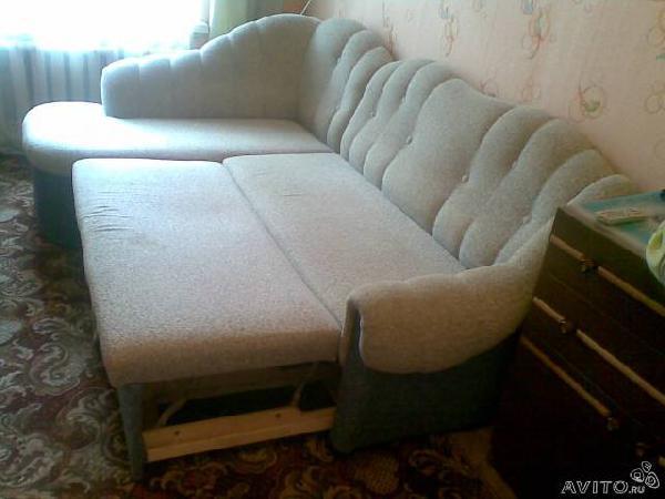 Транспортировка личныx вещей : Угловой диван из Санкт-Петербурга в лена.обла. кузьмолово