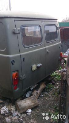 Доставка кузова уаз 452 санитарка из Тольятти в Сургут