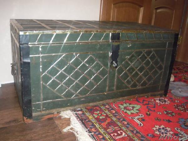 Доставка старинный деревянный сундук из Энгельса в Москву