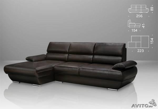 Перевезти Угловой диван-кровать лоренцо из Санкт-Петербурга в Тюмень