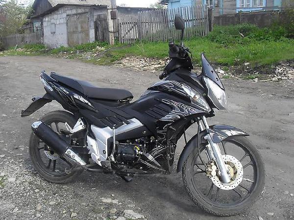 Мотоцикл из Барнаула в Камня-на-Оби