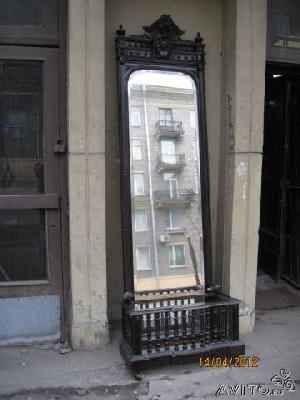Заказать авто для доставки личныx вещей : Зеркало в раме с кашпо из Санкт-Петербурга в Aрхагельска