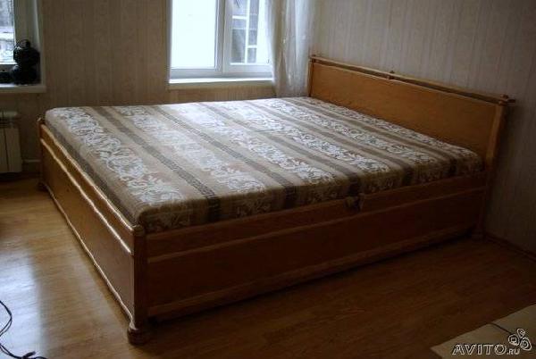 Заказ машины для отправки мебели : Кровать массив по Санкт-Петербургу
