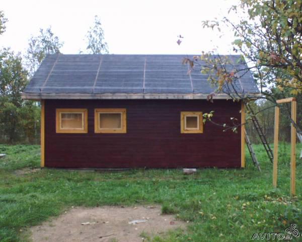 Заказ машины для отправки мебели : Баня из Санкт-Петербурга в Сосново
