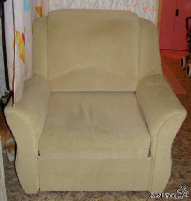 Заказ газели для отправки личныx вещей : Кресло кровать по Санкт-Петербургу