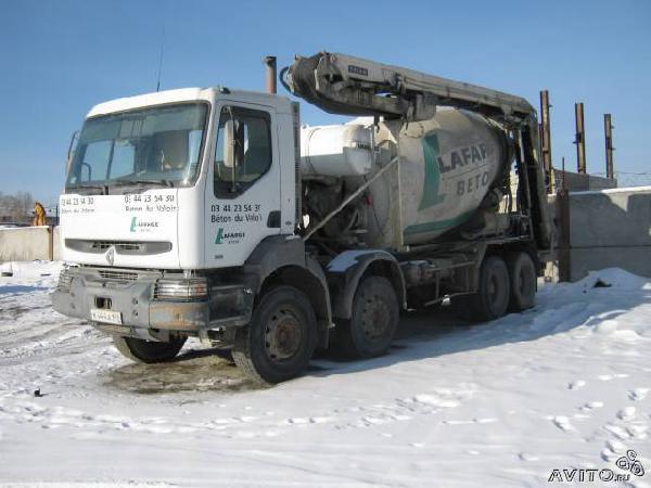 Заказ газели для бетон. раствор. из Екатеринбурга в Полевской район поселок Полдневая