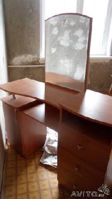 Заказать газель для отправки личныx вещей : Туалетный столик из Набережных Челнов в Шелковникова
