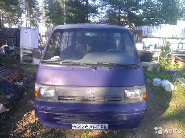 Перевозка автомобиля Toyota hia / 1993 г / 1 шт