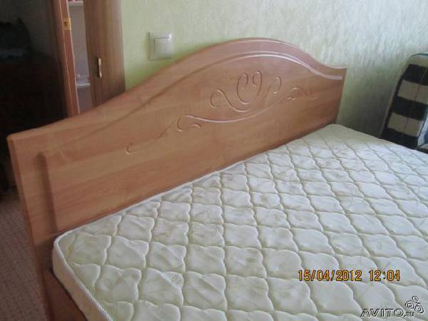Доставка мебели : 2-ух спальную кровать из Северодвинска в Игнатьевское