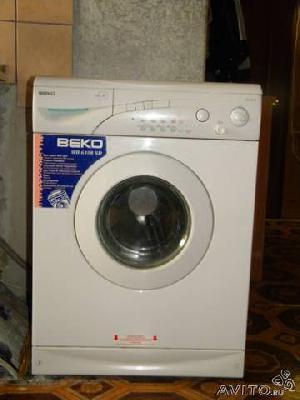 Заказать авто для отправки мебели : Стиральная машина Beko WB 6108 по Санкт-Петербургу