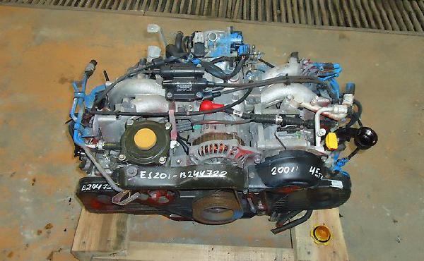 Перевезти двигатель для автомобиля subaru legacy, доставка 2002 г.в. из Бийска в Инту