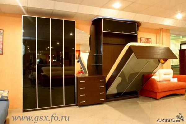 Заказать авто для отправки мебели : двухспальная откидная кровать из Санкт-Петербурга в Снт Каучук