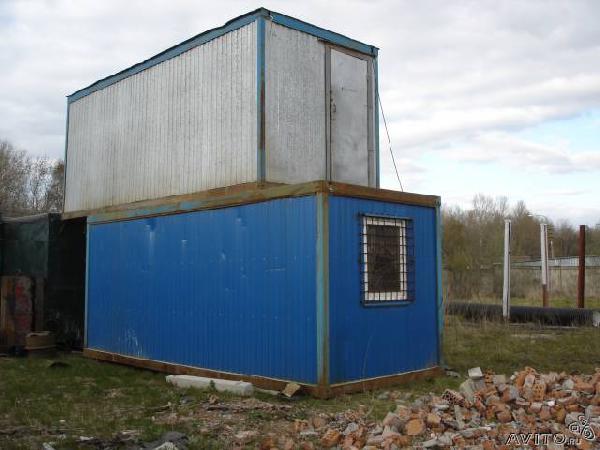 Заказ отдельной газели для отправки мебели : блок-контейнер из Санкт-Петербурга в Лен. Область