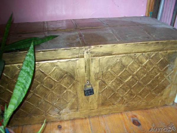 Заказ отдельной газели для доставки вещей : сундук, самовар из Екатеринбурга в Владивосток