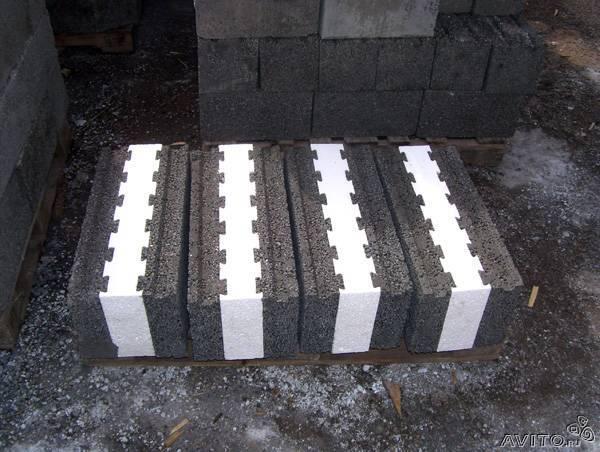 Отправка вещей : Блоки керамзитные с утеплителе из Санкт-Петербурга в Новороссийск