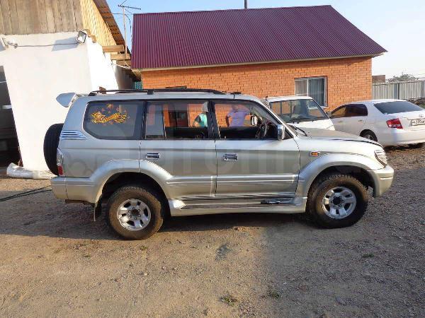 Перевозка автомобиля toyota land cruiser prado / 2000 г / 1 шт из Владивосток в Нижний Новгород