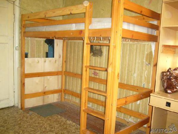Заказ машины для перевозки личныx вещей : кровать из Санкт-Петербурга в Горный