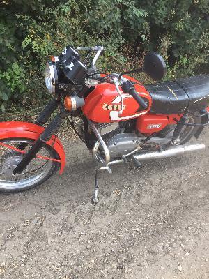 Перевозка мотоцикла cezet 350, 1986 года из Ростов-на-Дону в Красный Сулин