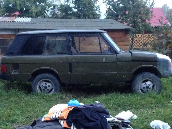 Перевозка автомобиля land rover ra / 1990 г / 1 шт из Новосибирск в Санкт-Петербург