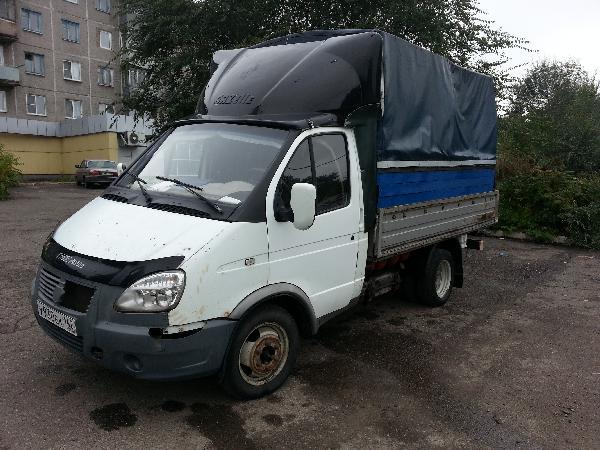 Перевозка автомобиля газ 3302 / 2005 г / 1 шт из Новокузнецк в Санкт-Петербург