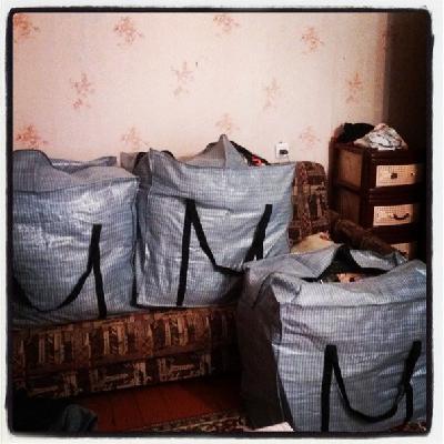 Доставка вещей на газели догрузом из Кронштадт в Сыктывкар