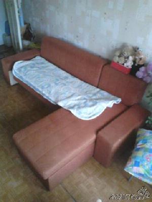 Заказ отдельной газели для доставки вещей : Угловой диван по Екатеринбургу