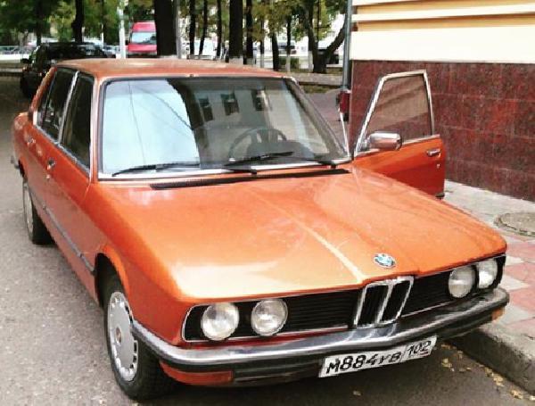 Перевозка автомобиля bmw 5/83года из Уфа в Москва
