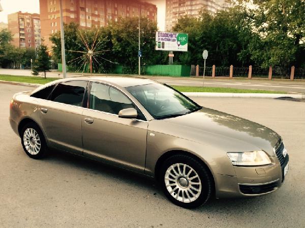 Перевозка автомобиля Audi A6 2006 года