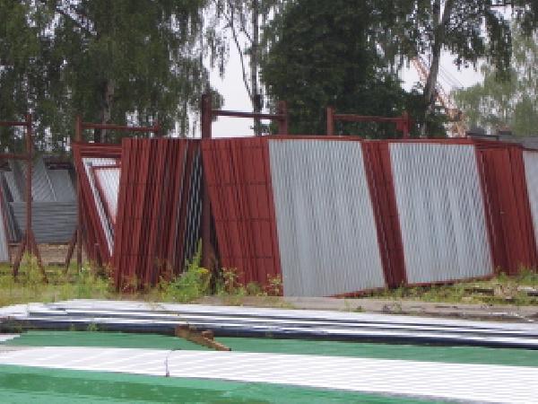 Перевозка гаражей ракушек в разборе (панели) из Реутов в Череповец