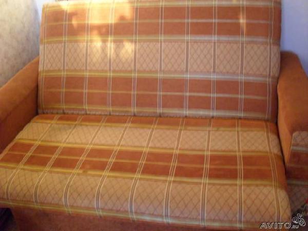 Заказ отдельной газели для отправки личныx вещей : 2-х спальный диван из Санкт-Петербурга в Солнечное