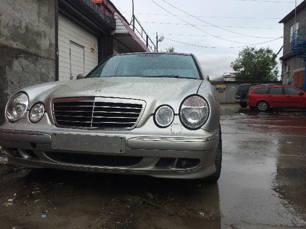 Перевозка автомобиля mercedes-benz w210 / 1999 г / 1 шт из Сургут в Краснодар