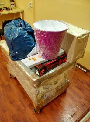 Сколько стоит перевезти коробки, личные вещи, другие грузы из Россия, Москва в Испания, Валенсия
