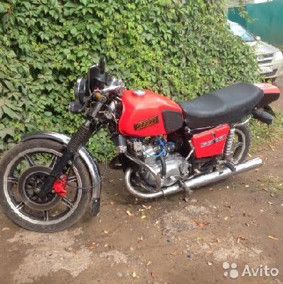 Мотоцикл из Ижевск в Красноярск