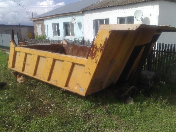 Стоимость автоперевозки кузова самосвального ота камаза из Альметьевск в Омск