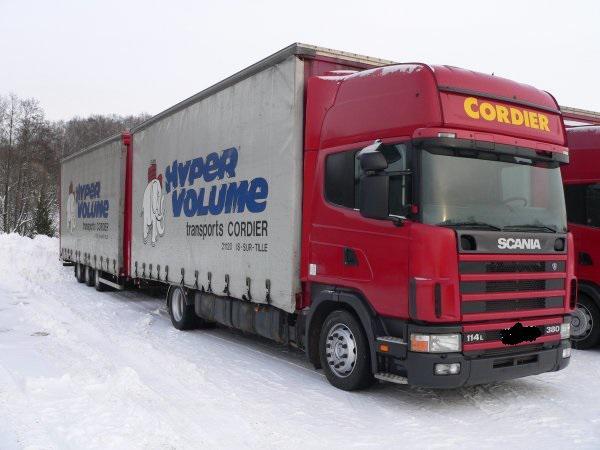 А/м грузовой скания r114 бортовой из Калининград в Москва