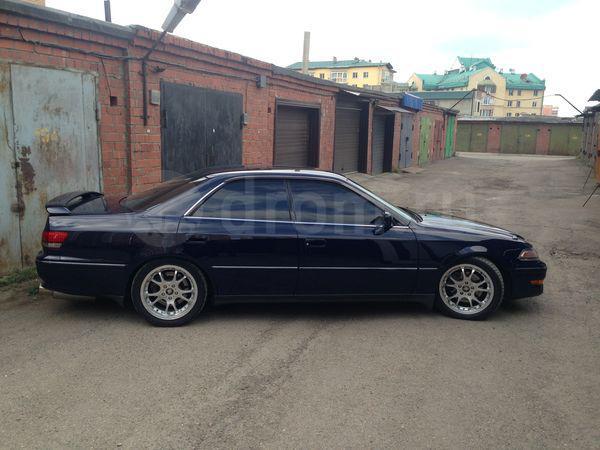 Перевозка автомобиля toyota mark 2 / 1996 г / 1 шт из Иркутск в Омск