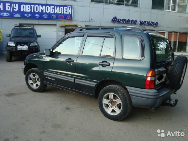 Перевозка автомобиля chevrolet tracker  / 2003 г / 1 шт из Тюмень в Владивосток