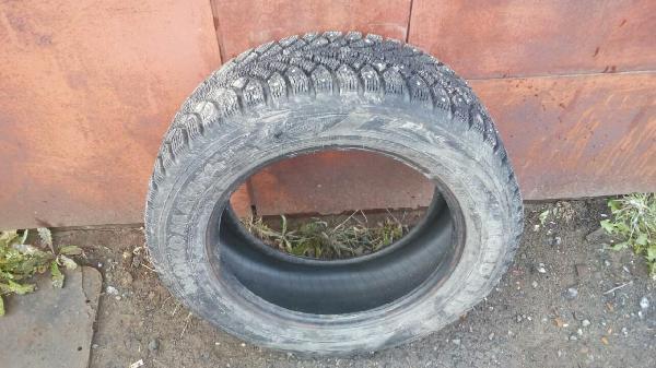 транспортировка четыре зимних шипованные шин r 16 стоимость попутно из Тюмени в Видное