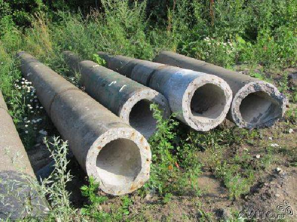 Заказ транспорта перевезти бетонные трубы б.у в канаву на по Санкт-Петербургу