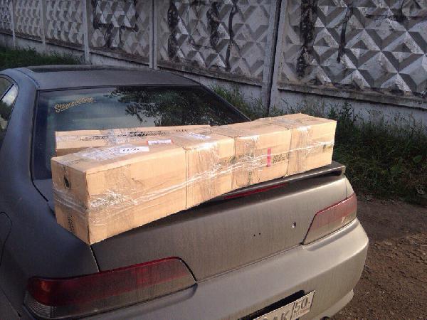Перевозка коробок стоимость из Россия, Москва в Латвия, Рига