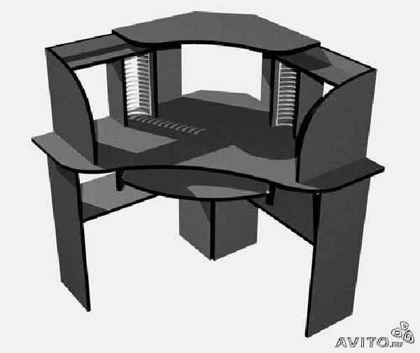 Заказ грузовой газели для транспортировки личныx вещей : Компьютерный стол + кресло по Санкт-Петербургу