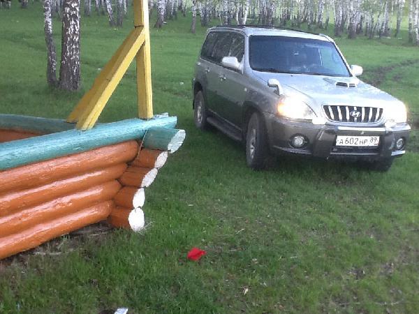 Перевозка автомобиля хендай терракан / 2003 г / 1 шт из Когалым в Каменск-Уральский