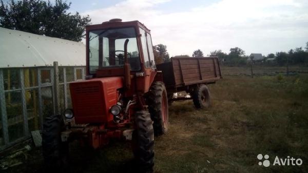 Отправка автомобиля трактор т 30 / 1992 г / 1 шт из Тамань в Вторые Тербуны
