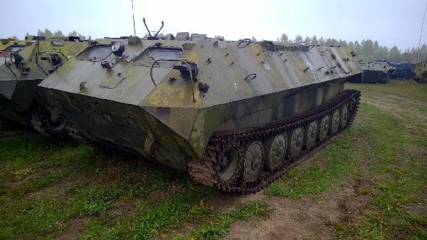 Перевозка бронетранспортёра мтлбу из Белоруссия, Минск в Россия, Омск