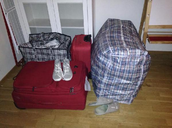 Сколько стоит перевезти баул попутно из Чехия, Прага в Россия, Санкт-Петербург
