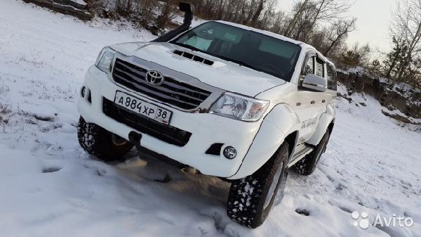 Перевозка автомобиля toyota hi / 2013 г / 1 шт из Ангарск в Самара